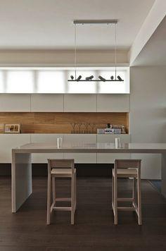 Interior Design: Modern U0026 Organic Theme Presented By Taiwanese Interior  Design. Minimalist Kitchen Design By Taiwanese Interior