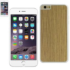 Reiko Iphone 6-6S Plus 5.5Inch Wood Pattern And Pc Hard Case White