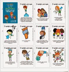 """Recursos didácticos para imprimir, ver, leer: """"Tarjetas para el Día de los Derechos del Niño"""""""