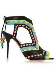 Sophia WebsterRiko cutout patent-leather sandals