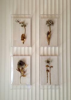 gilded flowers by Tommy Mitchell #JLGShowhouse