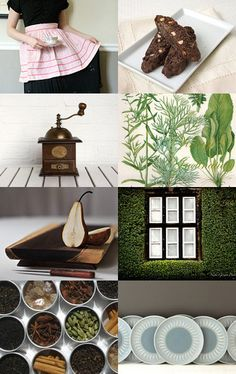 a day in the kitchen -- treasury by Barbara (BelleAccessoires.etsy.com)