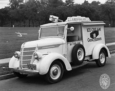 BALTIMORE::: Good Humor Ice Cream Truck, July 7, 1948...