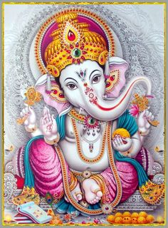 Lord Ganesha is one of the most popular Hindu deity. Here are top Lord Ganesha images, photos, HD wallpapers for your desktop and mobile devices. Arte Ganesha, Arte Shiva, Shiva Hindu, Shiva Art, Hindu Deities, Hindu Art, Krishna, Ganesh Tattoo, Hindu Tattoos