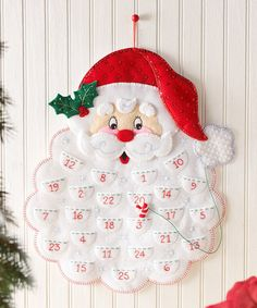 Bucilla Felt Christmas Advent Calendar Kit Bucilla felt applique kits are a Christmas tradition. New for May The only way to get a kit in newer condition is to pick it up in person from the factory. Christmas Stocking Kits, Christmas Sewing, Christmas Stockings, Christmas Crafts, Christmas Ornaments, Christmas Décor, Christmas Ideas, Felt Advent Calendar, Advent Calenders