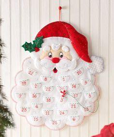 Look what I found on #zulily! Santa's Beard Advent Calender Kit by Bucilla #zulilyfinds
