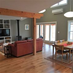 White Oak Floors - Live Sawn Cut - Sustainably Harvested and Milled in the USA - Available Mill-Direct from Hull Forest Products. White Oak Floors, Wide Plank Flooring, Old World Style, French Oak, Living Rooms, Hardwood, Usa, Live, Table