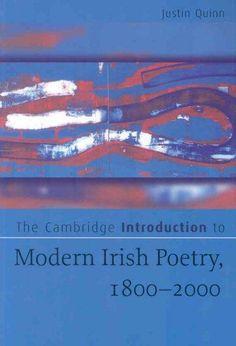 The Cambridge Introduction to Modern Irish Poetry, 1800-2000