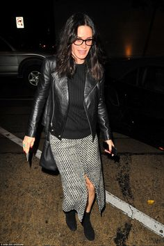 Solo outing: The star was spotted leaving celebrity eaterie Craig's in West Hollywood on W...