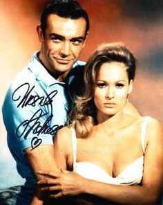 URSULA ANDRESS Honey Ryder - James Bond GENUINE AUTOGRAPH UACC AFTAL (Ref:2563) | eBay