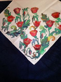 Dharma Trading Co. Featured Artist: Tatiana Demina- silk painting