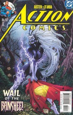 Action Comics #820 Superman DC comic book Silver Banshee