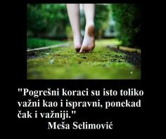 Mesa Selimovic's quote