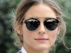 The it girl Olivia Palermo wearing Dior So Real AOO.