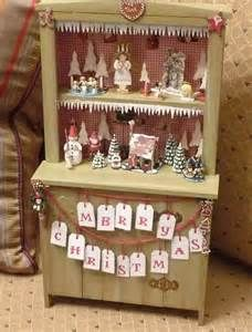 christmas altered cabinet - - Yahoo Image Search Results