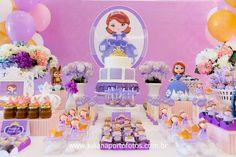 Princesa Sofia nossa papelaria para Per Bambini Festas