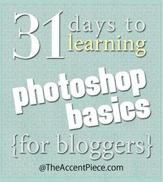 I've been wanting to learn something about photoshop....maybe this is the ticket...