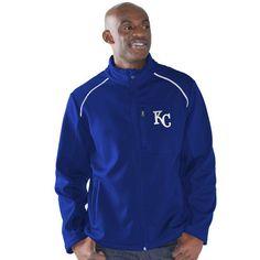Kansas City Royals G-III Sports by Carl Banks Rebound Full-Zip Fleece Jacket - Royal - $59.99