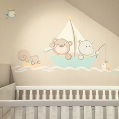 Baby Nursery Art, Baby Boy Room Decor, Baby Room Design, Baby Wall Art, Baby Art, Baby Bedroom, Baby Boy Rooms, Spy Kids, Baby Painting