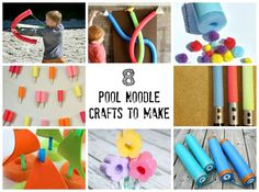 8 Pool Noodle Craft Projects