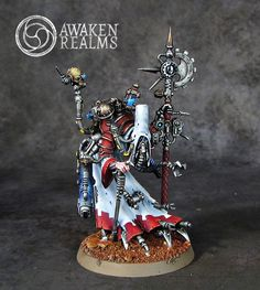 Tech-Priest Magos Dominus Forge World Metalika