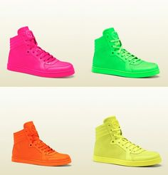 Gucci Neon Sneakers