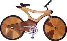Wooden bike 2