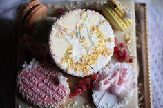 Ballet dancer's cake in detail: バレリーナのケーキ