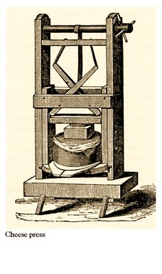 A VT cheese press