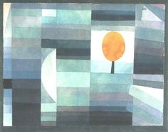 The messenger of autumn, 1922 by Paul Klee, Bauhaus. Abstract Art. abstract. Yale University Art Gallery (Yale University), New Haven, CT, US