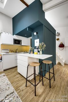 New Ideas For Ikea Kitchen Table Small Spaces Kitchen Table Small Space, Small Space Living, Ikea Kitchen, Kitchen Furniture, Ikea Inspiration, Tiny Apartments, Tiny Spaces, Küchen Design, House Design