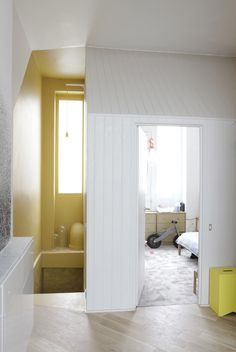 Blanco y amarillo #white #yelow #blanco #amarillo #interiorismo #decoracion