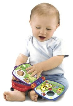 They're never too young to discover the joy of books. This one has pages to turn pictures to see a story to hear and even a fun song to sing. Baby will love discovering colors and shapes while play...