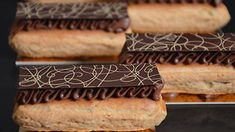 L'éclair choco noisette by Christophe Michalak (recipe in French)