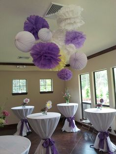Lavender, Lace, And Lollipops Baby Shower