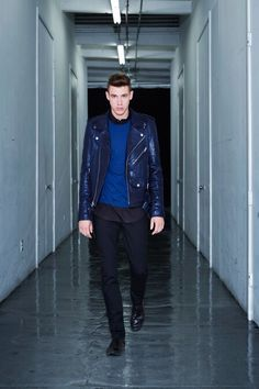 BLK DNM x ink leather jacket 5
