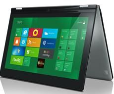 The Yoga ultrabook. 3.1 pounds, 13.3-inch display, foldable design. $1,199