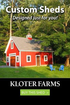 Our customers were so thrilled with their 20x30 Elite Cape, they used it for their Christmas card! We built it according to their exact specifications - how will you design yours? #kloterfarms #prefab #shed #mancave #backyard Shed Design, Your Design, Custom Sheds, She Sheds, Built In Storage, Prefab, Man Cave, Outdoor Living, Cape