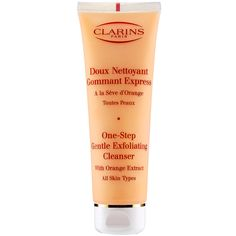 New at Sephora: Clarins One-Step Gentle Exfoliating Facial Cleanser #Sephora #skincare #cleanser