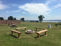 Lake Fork Resort BBQ and fire pit area outside the motel rooms Lake Fork, Motel Room, Free Gas, Fire Pit Area, Rv Parks, Picnic Table, Swimming Pools, Bbq, Rooms