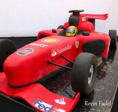 F1 race car  Cake by ReemFadelCakes