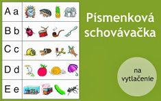 Neposedné nožnice: Písmenková schovávačka Busy Bags, Lego Duplo, Creative Kids, Alphabet, Teaching, Education, School, Ideas, Autism