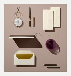 Louisa Parry's stationery shoot for Rhone & Winkreative