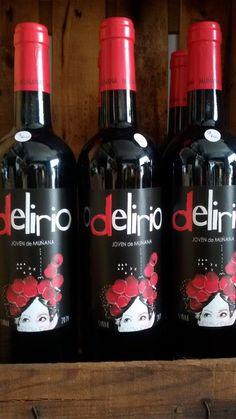 PRODUCTAZO: Delirio -100% Syrah- Vino Tinto joven de Sierra Nevada! Sorprendente personalidad de @BodegasMunana #Nerja