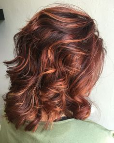 Rv base with copper/orange highlights. Are you looking for auburn hair color hairstyles? See our collection full of auburn hair color hairstyles and get inspired!