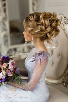 Wedding medium hairstyles | Elstyle wedding hairstyles for medium hair