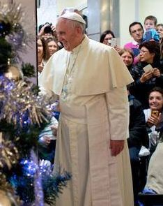 Pope Francis visits Bambino Gesù Children's Hospital - Vatican Radio - English Section [detail]