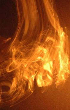 Faux Fire 5 - Abstract Photography - Untitled 5