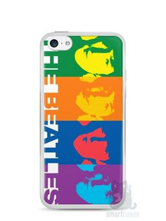 Capa Iphone 5C The Beatles #2 - SmartCases - Acessórios para celulares e tablets :)