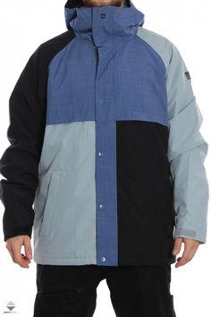764d0d8670 Kurtka Snowboardowa Quiksilver Decade Perl Blue